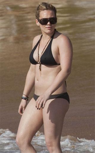 Hilary Duff Bikini Picture