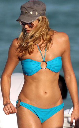 Stacy Keibler Bikini Pictures
