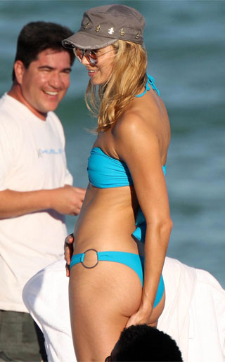 Stacy Keibler Bikini Photos