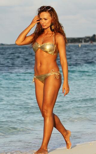 Karina Smirnoff Bikini Pictures
