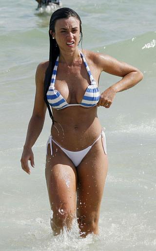 Nicole Bahls Bikini Pictures