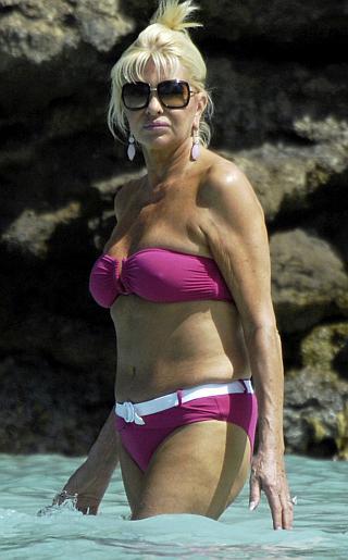 Ivana Trump Bikini Pictures