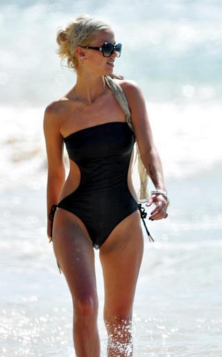 Sarah Harding Bikini Pictures