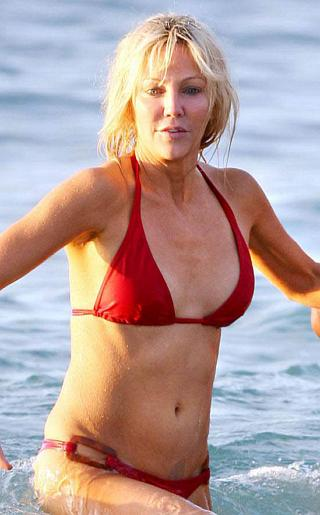 Heather Locklear Bikini Pictures
