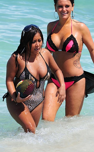 Jwoww and Snooki Bikini Pictures