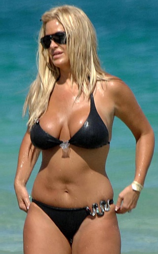 Kim Zolciak Bikini Pictures