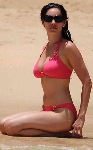 Kelly Brook Bikini Pictures