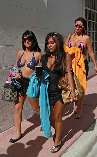 Jwoww, Snooki and Angelina (Jersey Shore) Bikini Pictures