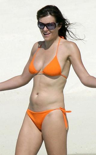 Elizabeth Hurley Bikini Pictures