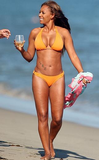Melanie Brown (Mel B) Bikini Pictures