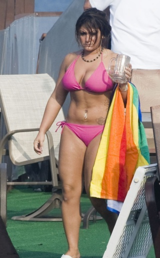 Deena Nicole Cortese Bikini Pictures