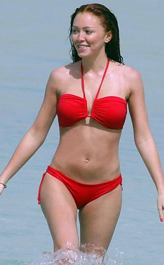 Natasha Hamilton Bikini Pictures