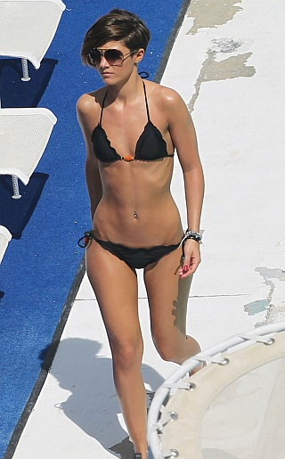 The Saturdays Bikini Pictures