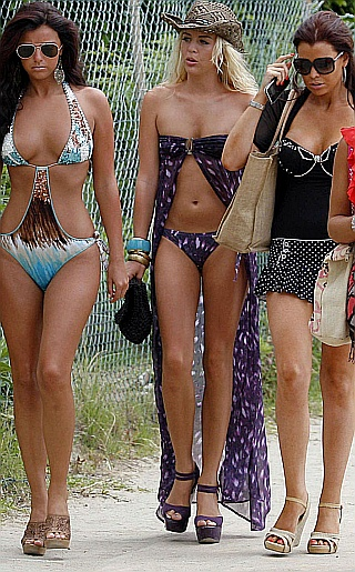 Lucy Mecklenburgh, Jessica Wright and Lydia Rose Bright Bikini Pictures