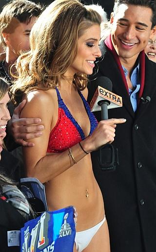 Maria Menounos Bikini Pictures