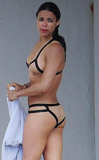 Michelle Rodriguez Bikini Pictures