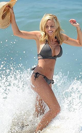 Camille Grammer Bikini Pictures