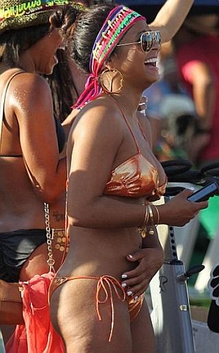 Christina Milian Bikini Pictures