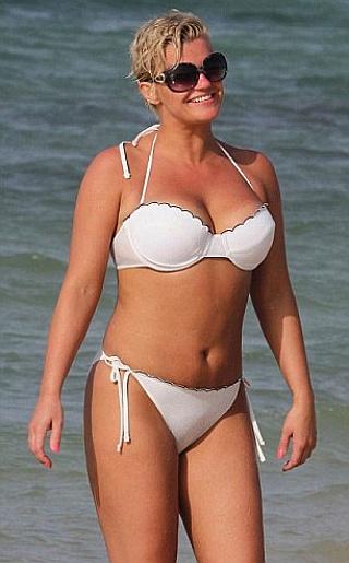 Kerry Katona Bikini Pictures