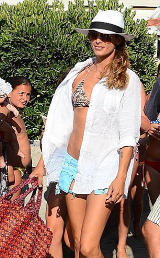 Elisabetta Canalis Bikini Pictures