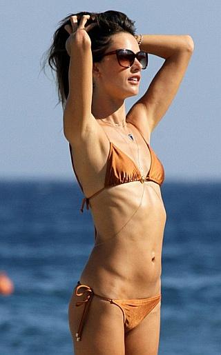 Alessandra Ambrosio  Bikini Pictures