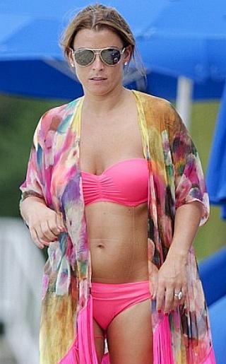 Coleen Rooney Bikini Pictures