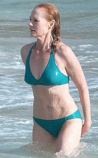 Marg Helgenberger Bikini Pictures