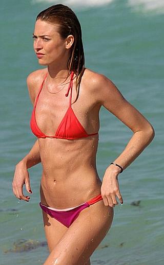 Martha Hunt Bikini Pictures