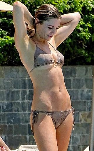 Abbey Clancy Bikini Pictures