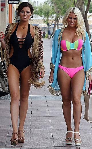 Jessica Wright and Danielle Armstrong Bikini Pictures Bikini Pictures