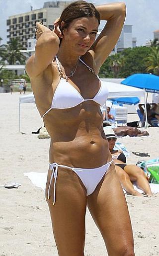 Kelly Bensimon Bikini Pictures