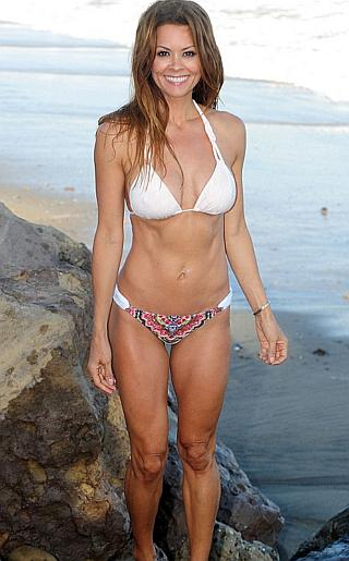 Brooke Burke Charvet Bikini Pictures